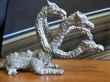 Rare Dungeons & Dragons Vintage Hydra 5-Headed Dragon Metal Miniature D&D Mini