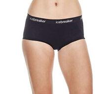 NWT  Icebreaker Merino Women's Sprite Hot Pants, Black Size S
