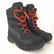 Columbia Omni Tech 200 GRAMS Techlite Winter Snow Black Boots Waterproof