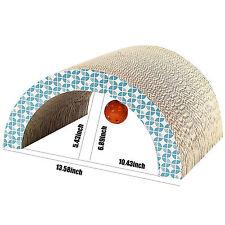 Cat Scratcher Arch Corrugated Scratch Board Pad Soft Bed Mat Claws Care Toy Tool