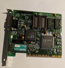 Vintage Diamond Stealth 64 DRAM PCI VGA display adapter