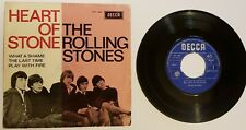 """ROLLING STONES """"HEART OF STONE +3 EP HOLLAND 1965 orig. MONO PS 457 066"""