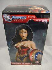 DC UNIVERSE ONLINE WONDER WOMAN STATUE  JIM LEE Maquette Bust Cover girl Batman