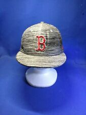 Boston Red Sox 7 1/4 New Era Fitted Heather Style Spandex/Cotton Hat