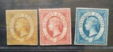 IONIAN ISLANDS 1859 Queen Victoria 1/2d 1d 2d SG 1 2 6 Sc 1 2 3 set 3 MLH