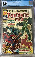 Fantastic Four Annual 5 CGC 8.0 1st solo Silver Surfer Psycho-Man Marvel 1967