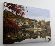 Wuppertal City Skyline Leinwand Canvas Bild Wandbild Kunstdruck L1445
