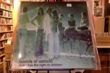 Boards of Canada Music Has the Right to Children 2xLP sealed vinyl RE reissue