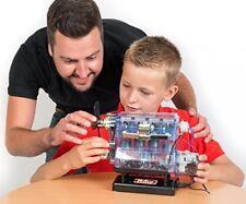 Model Engine Building Kit Car Truck Electric Motor Kids Educational Toy Mechanic