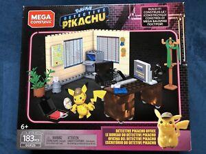 Mega Construx Pokemon Detective Pikachu Office Set NEW Sealed GGK26