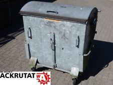 Abfallbehälter 770 L Müllcontainer verzinkt Mülltonne Großmülltonne Otto