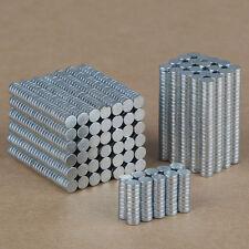 100PCS 3mm x 1mm N35 Rare Earth Neodymium Super Strong Magnets