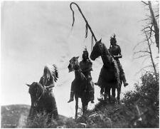 NATIVE AMERICAN INDIAN APSAROKE WAR GROUP 8X10 PHOTO PRINT 28012001564