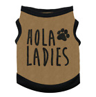 Pet Clothes For Puppy Cotton Vest With HOLA LADIES Printing Vest Dogs Cat Summer