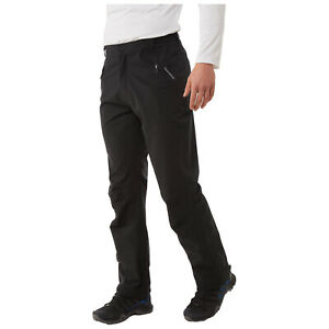 Craghoppers Mens Stefan Waterproof Breathable Walking Trousers Lined Hiking Pant