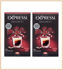 32 Capsules (2 boxes) Aldi Expressi Coffee Pods Decaffi - Intensity 7