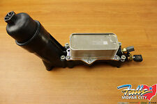 2014-2017 Chrysler Dodge Jeep Wrangler Oil Filter Housing Adapter Mopar OEM