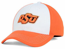 sports shoes f497c 29d79 Oklahoma State Cowboys Top of The World NCAA Orange White Flex Fit Hat Cap  S
