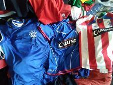 4 Lot Rare jersey Men S football Soccer Umbro Rangers Scotland Carling Diadora