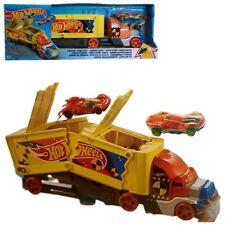 Mattel GCK39 Hot Wheels Fahrzeug Super Stunt Transporter Auto Spielzeug