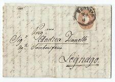 FRANCOBOLLI 1861/62 LOMBARDO VENETO 10 SOLDI VENEZIA 11/5 D/8026