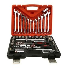61pcs Steel Auto Sleeve Combination Wrench Spanner Set Hardware Car Repair Tool
