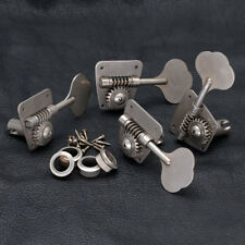 NEW - GOTOH FB30 RELIC 4 In-Line Bass Tuners for Vintage Fender - AGED NICKEL