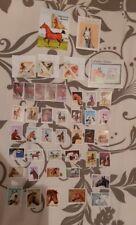 philatelie lot de 47 timbres sur le thème du cheval