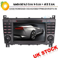 8-Core CD MP3 Android 8.0 DAB+Autoradio Mercedes C/CLK Class W203 W209 OBD DVB-T