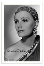 GRETA GARBO VINTAGE MOVIE ACTRESS SIGNED PHOTO PRINT AUTOGRAPH