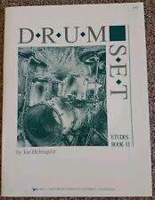 Drum Set Etudes Book 2 by Joe Holmquist - New