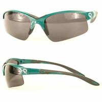 Miami Dolphins NFL Rimless Blade Sport Sunglasses Green Logo UV Protection