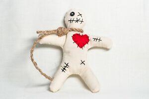 Mini Voodoo Doll - Protection, Charm, Control, Handmade, Wicca, Yorkshire, Pagan