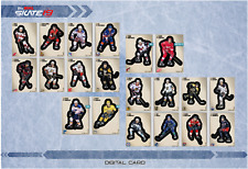 2019 TOPPS STICKERS BASE COMPLETE SET OF 20 CARDS Topps NHL Skate Digital Card