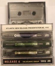 6x 90s Atlantic Promo Sampler Tape Lot Young MC No Doubt En Vouge Primus MC Lyte