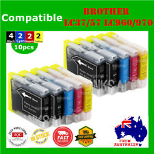 10x Ink Cartridges LC960 LC970 LC37 LC57 For Brother DCP 130C 135C 150C MFC 440