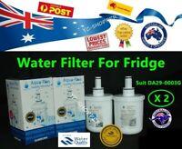2 X SAMSUNG Compatible DA29-00003G Fridge Water Filter Replacement Cartridges