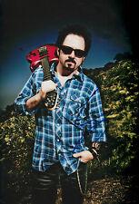 "Steve Lukather ""TOTO"" AUTOGRAFO SIGNED 20x30 cm immagine"