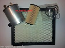 JEEP GRAND CHEROKEE 2 MKII 2.7CRD 2.7D OIL AIR FUEL FILTER FILTERS SERVICE KIT