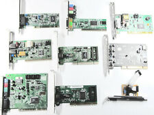 Lot of 9 Assorted PC Cards, Modems, Sound Blaster, USB ports, etc. (See List)