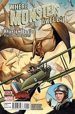 Where Monsters Dwell #1 Frank Cho Cover Marvel Comic Book Secret Wars 1st Print