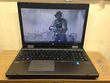 "HP Probook 6570B 15.6"" i5-3320M  8gb 500GB with Webcam Windows 10"