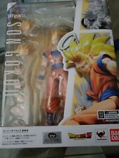 IN HAND S.H.Figuarts Dragon Ball Z KAI SUPER SAIYAN 3 SON GOKU SSJ3 US SELLER