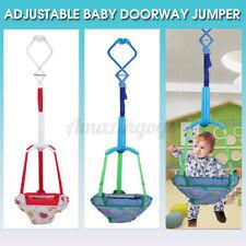 Adjustable Baby Kid Door Jumper Exercise Doorway Swing Jump Up Seat Toddler