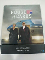 House of Cards Volumen 3 Capitulos 27-39 - 4 x Blu-Ray Español Ingles