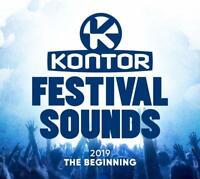KONTOR FESTIVAL SOUNDS 2019-THE BEGINNING  3 CD NEU