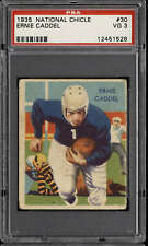 1935 National Chicle #30 Ernie Caddel PSA 3 VG RC Rookie Lions  ID:283039