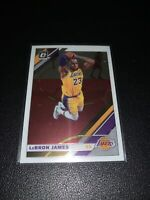 2019-20 Donruss Optic #60 LeBron James Lakers