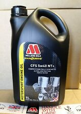 Millers NANODRIVE CFS 5w-40 NT+ Full Synthetic Engine Oil 5 LITRES 5L