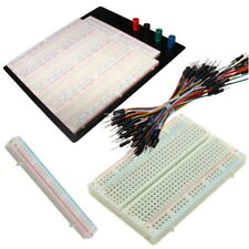 400 830 840 3220 point Plaque Platine d'essais Prototype Breadboard Jumper Wires